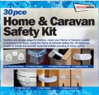 HOME AND CARAVAN SAFETY SECURITY LOCK SET KIT 30PCE CHILDPROOF KID PROTECT CHILD